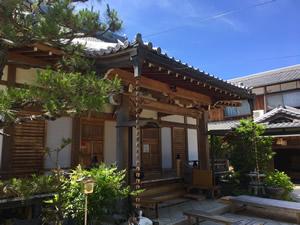 法華寺の外観