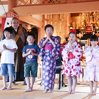 京田辺市 法華寺でのイベント 夏祭り